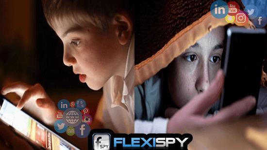 Protege a Los Hijos De Las Redes Sociales Con FlexiSPY