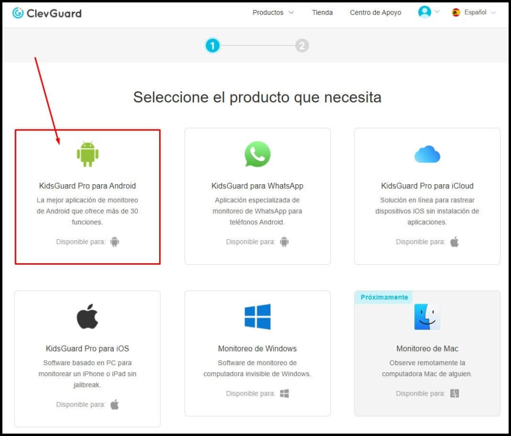 espiar android con clevguard